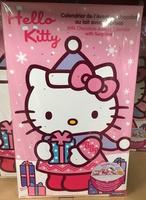Calendrier de l'Avent au chocolat au lait avec surprises Hello Kitty - Produit - fr