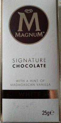 Magnum Signature Chocolate White Mini - Product - fr