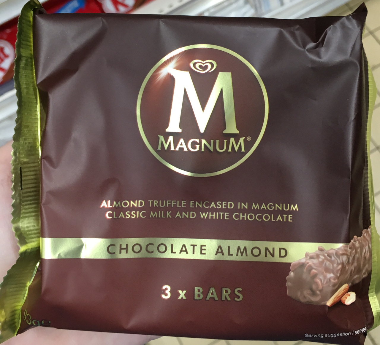 Chocolate Almond bars - Product