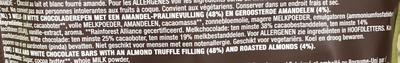 Chocolate Almond bars - Voedingswaarden
