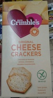 Original Cheese Crackers - Product - fr