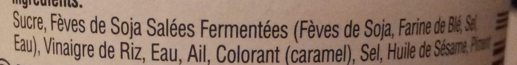 Hoi sin sauce - Ingredients