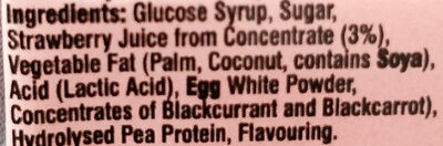 Strawberry flavour - Ingredients - en