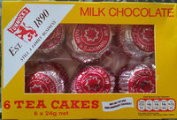 Tunnock's Milk Chocolate Tea Cakes 6 x - Product - en