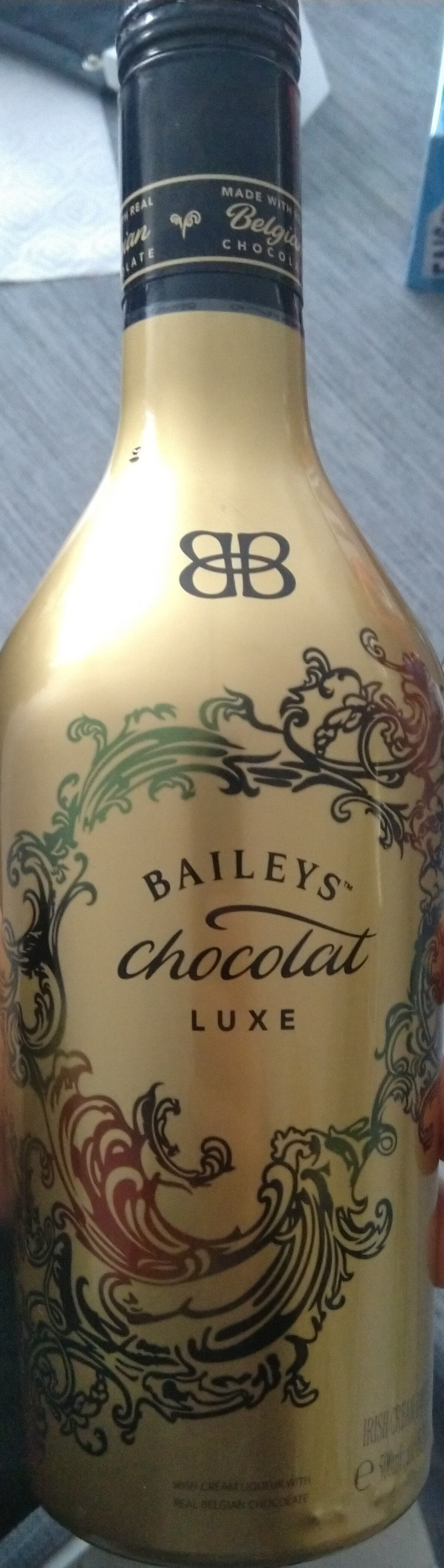 Crème Chocolat Luxe Baileys 15.7% 50 cl, 1 Bouteille - Product - fr