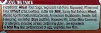 Digestive Creams - Ingrediënten