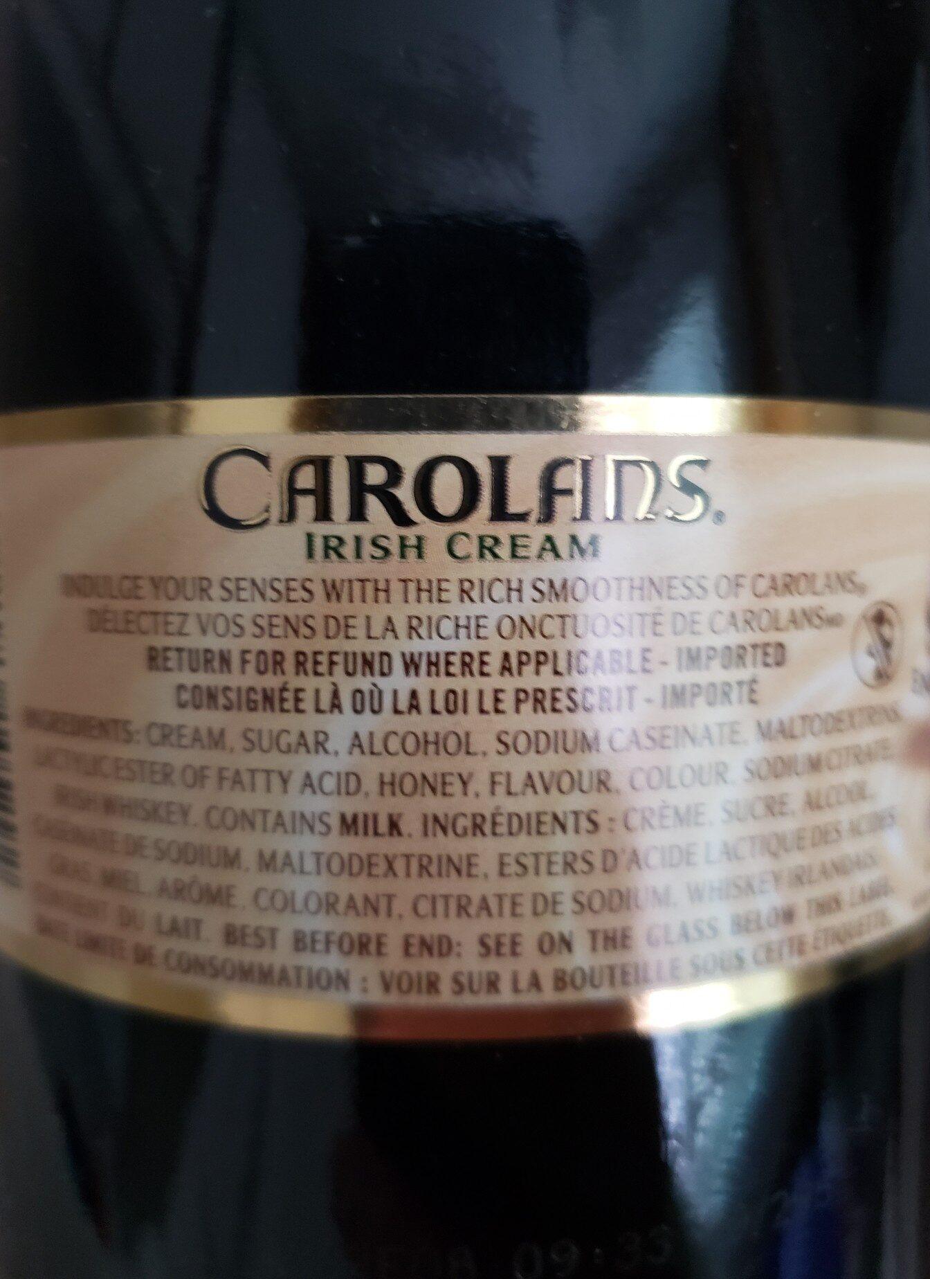 carolyns - Ingredients - en