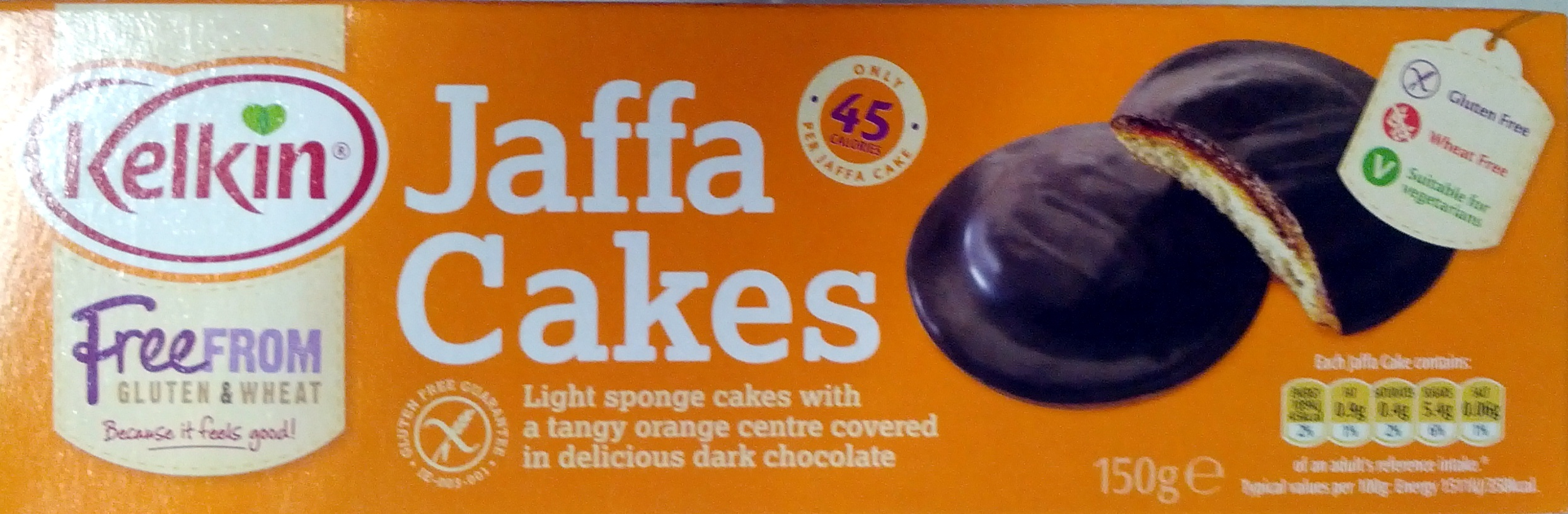 Gluten Free Jaffa Cakes - Product