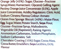 Gluten Free Jaffa Cakes - Ingredients