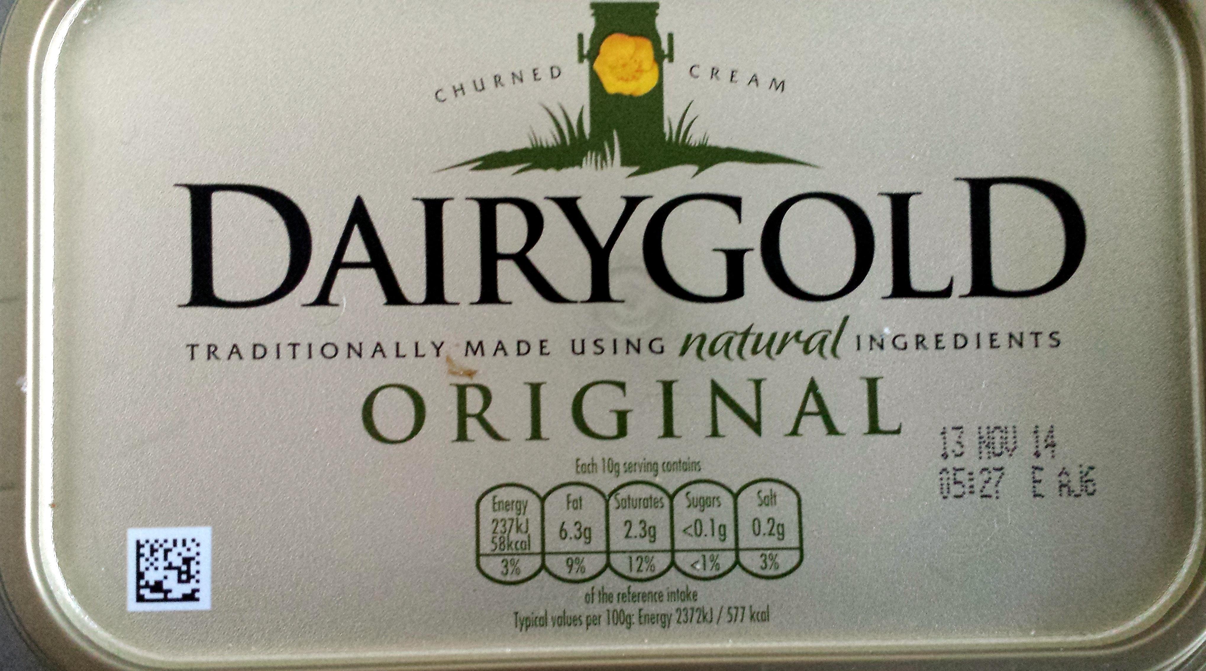 Dairygold Original Churned Cream - 454G - Product - en
