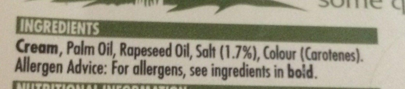 Dairygold Original Churned Cream - 454G - Ingredients - en