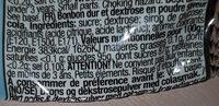 Baby pop - Ingredients - fr