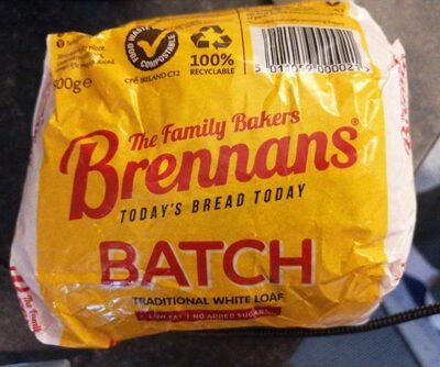 Bread white loaf - Product - en