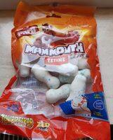 Mini mammouth tétine - Informations nutritionnelles - fr