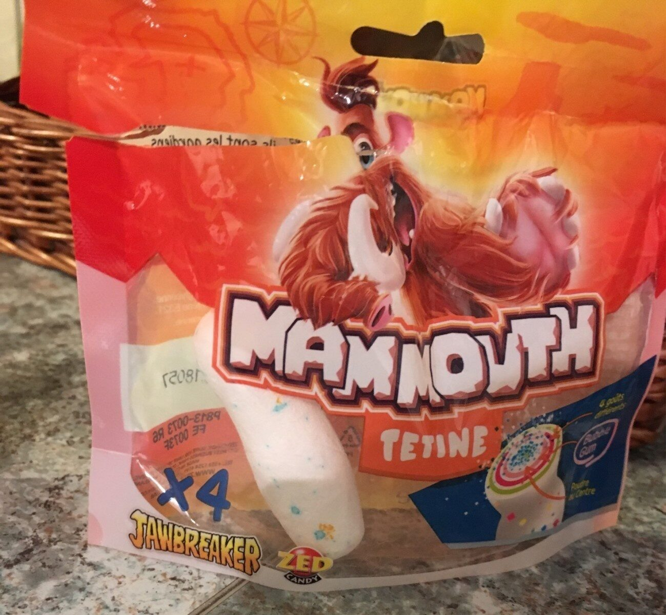 Mammouth tétine - Prodotto - fr