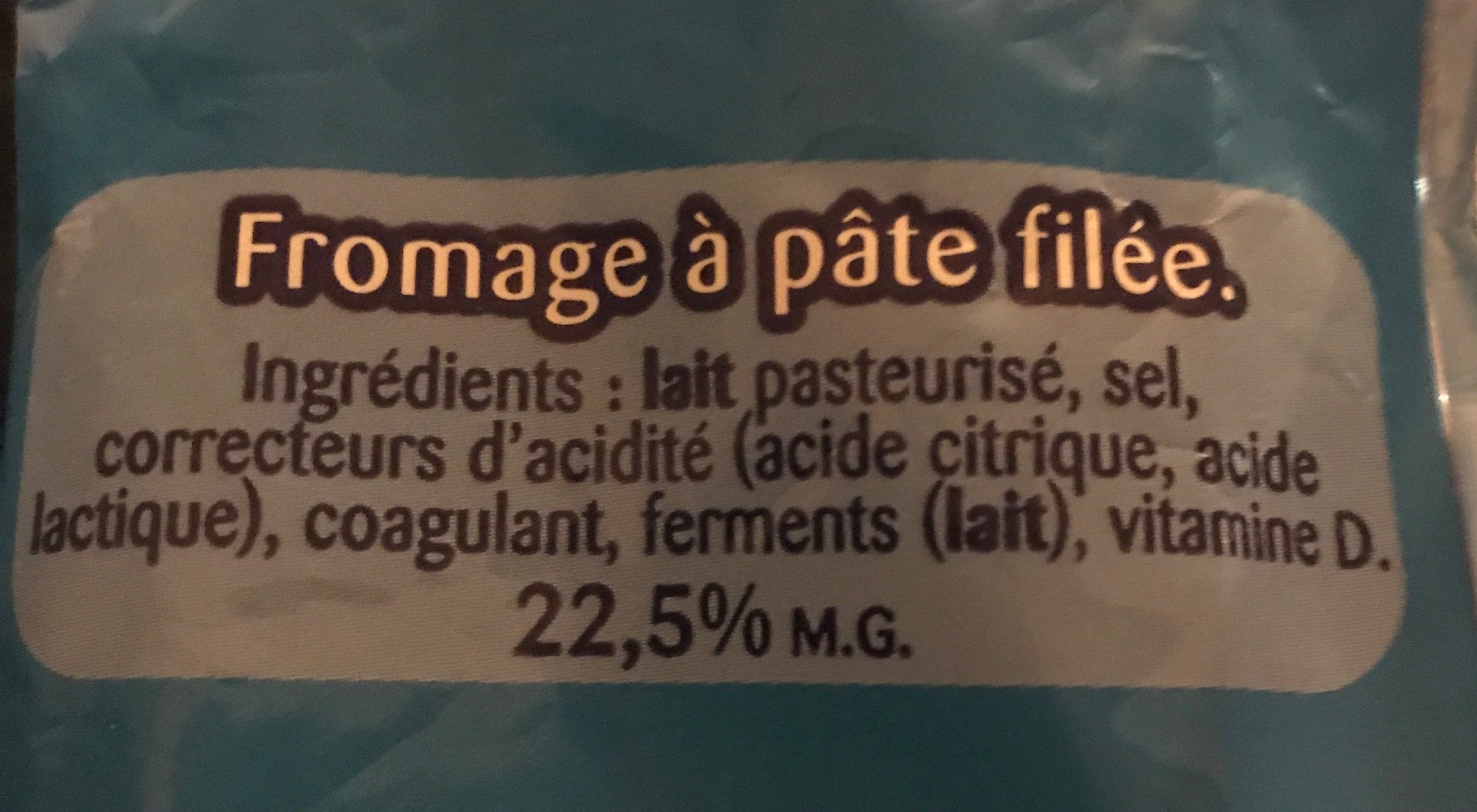Ficello nature - Ingrediënten