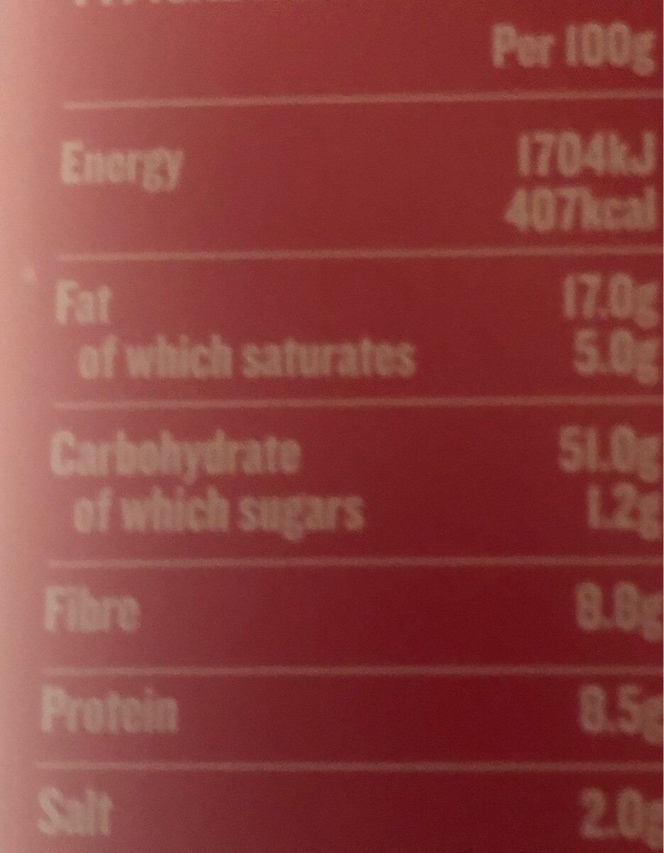 Salted Microwave Popcorn - Nutrition facts - en