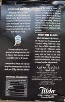 Giant wild rice - Ingrédients - fr