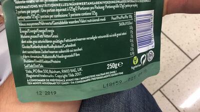 Tilda Steamed Lime and Coriander Basmati Rice - Informations nutritionnelles - fr
