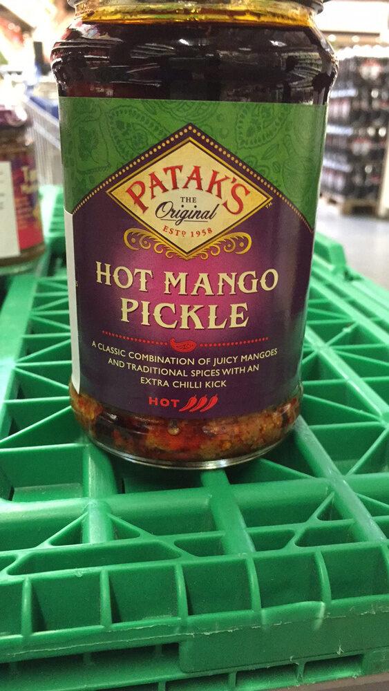 Patak's Hot Mango Pickle 283g - Product - fr