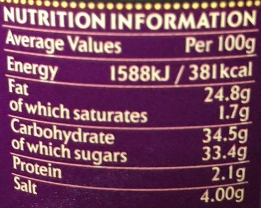 Aubergine Pickle - Informations nutritionnelles - fr