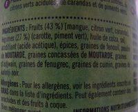 Pickle mixte - Ingrédients