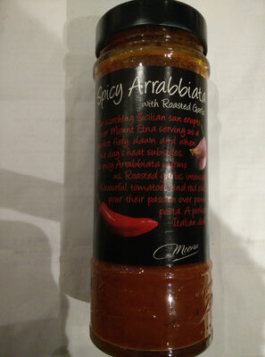 Spicy Arrabbiata with roasted garlic - Produit - en