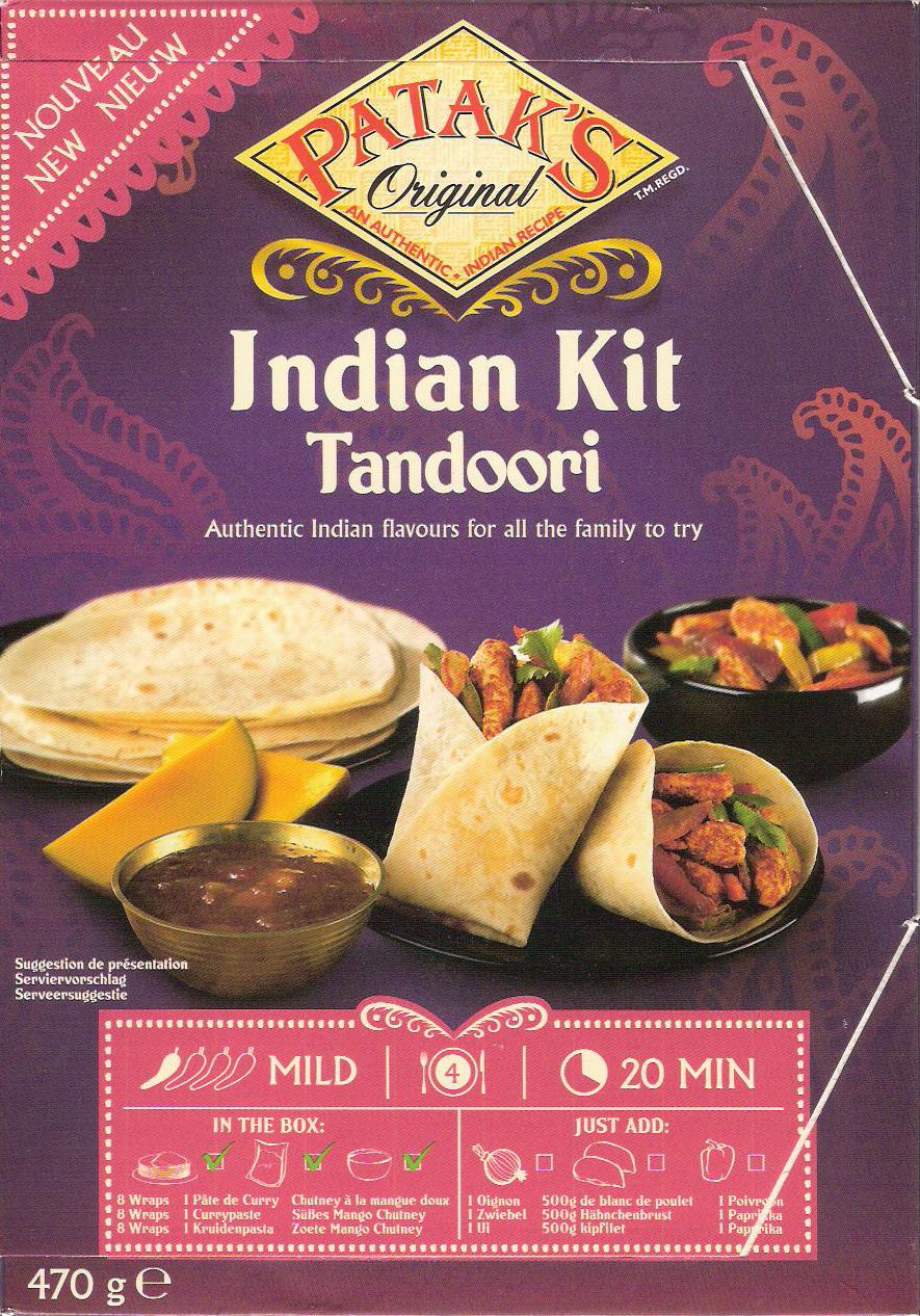 Indian Kit Tandoori - Produit