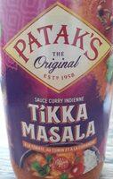 Sauce curry indienne Tukka Masala Pataks - Produit - fr