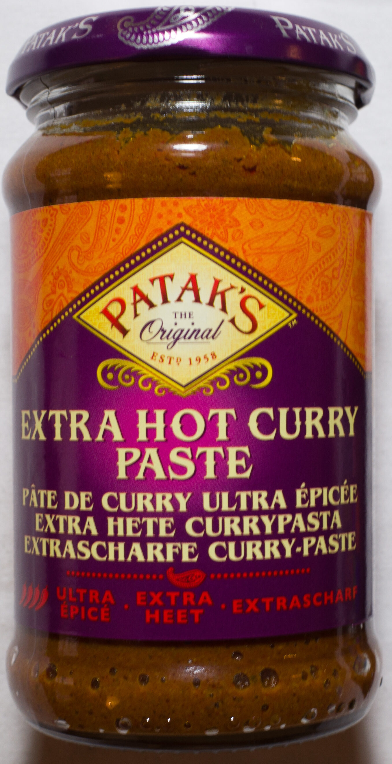 Extra Hot Curry Paste - Product