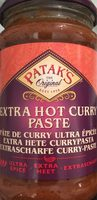 Extra Hot Curry Paste - Produit