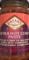 Extra hot curry paste - Produit - fr