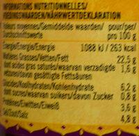 Extra Hot Curry Paste - Voedingswaarden - de