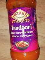 Tandoori Sauce Curry Indienne - Product - fr