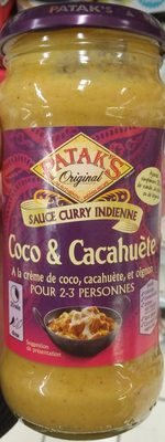 Sauce Curry Indienne Coco & Cacahuètes - Product - fr