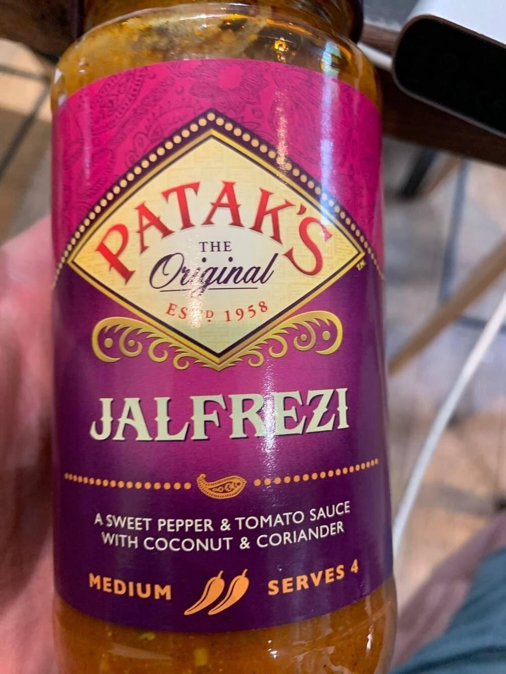 Jalfrezi sauce (Dalzt) - Produit - en