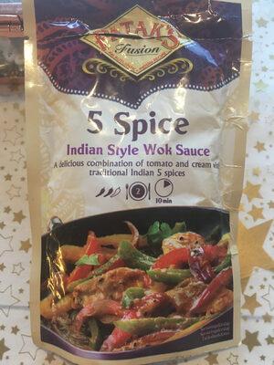 5 Spice Indian style Wok Sauce - Produit - nb