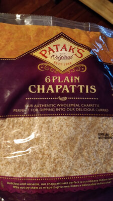 Chapattis - Produit - en