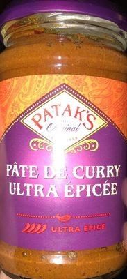 Pâte de curry ultra épicée - Produit - fr