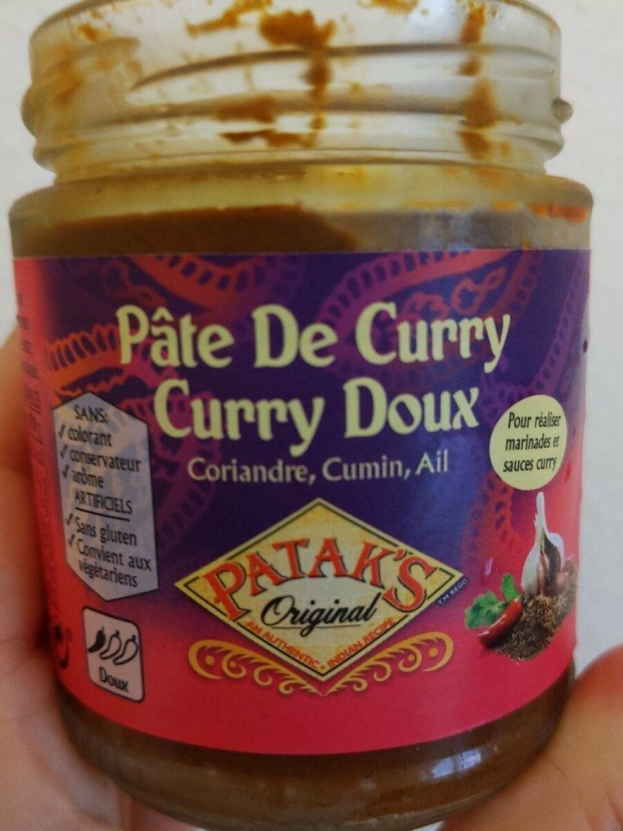 Pâte de Curry Doux - Produit - fr