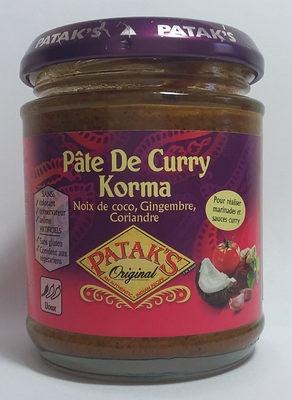 Pate de Curry Korma - Product - fr