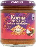 Pate de Curry Korma - Produit - fr