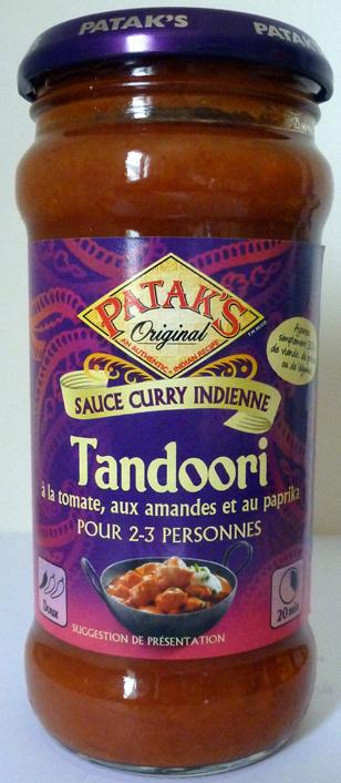 Tandoori à la tomate, aux amandes et au paprika - Produit - fr