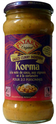 Korma Sauce Curry Indienne - Product