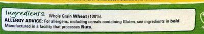 Shredded Wheat Bitesize - Ingredients - en