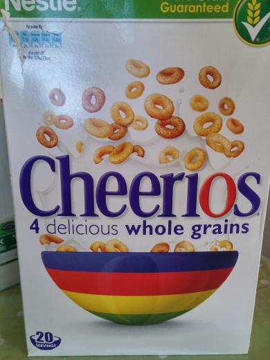 Cheerios whole grains - Product - en