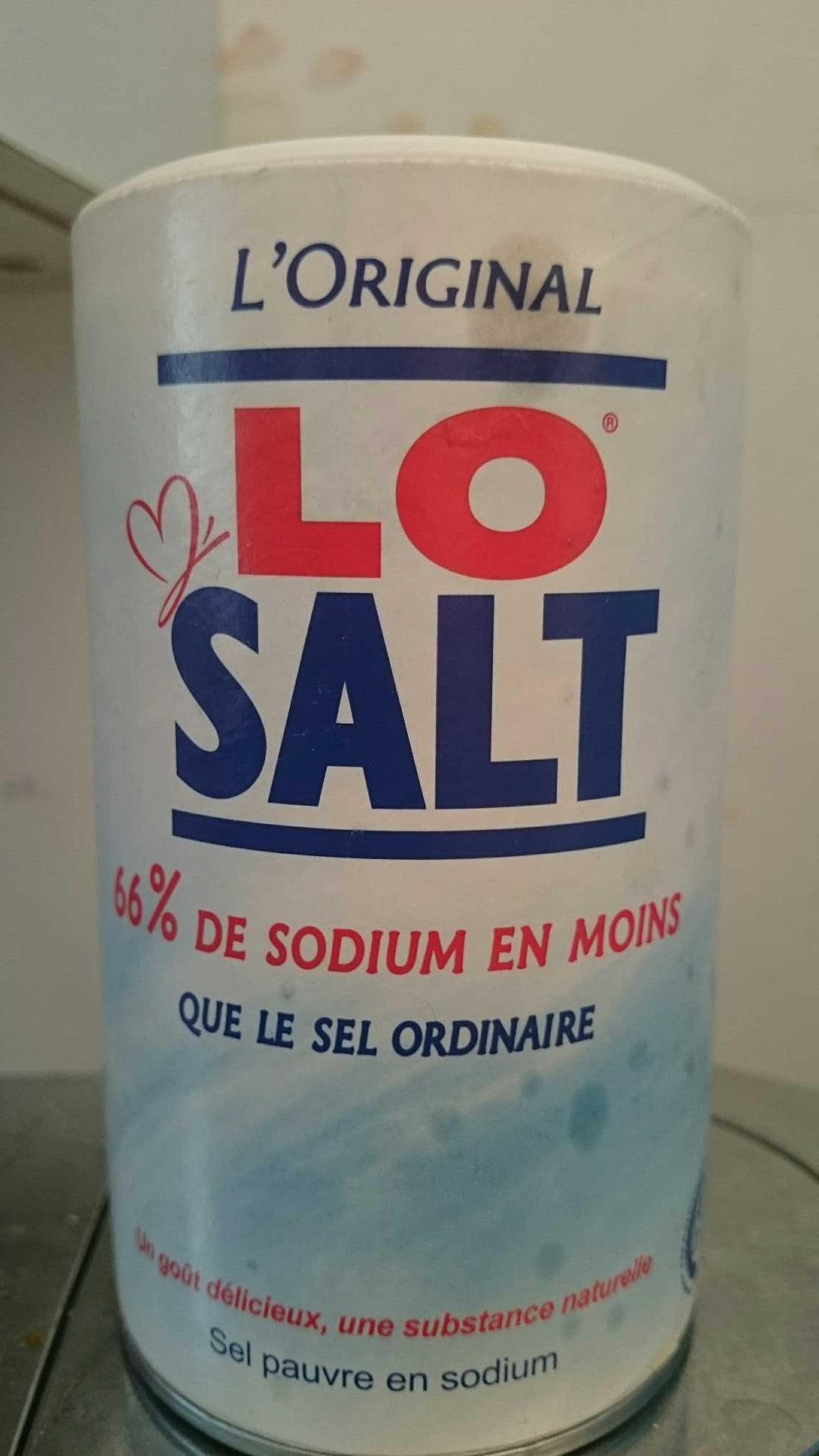 LoSalt® Reduced Sodium Salt - Product - fr