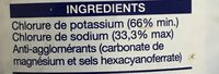 Losalt - Ingredients - fr