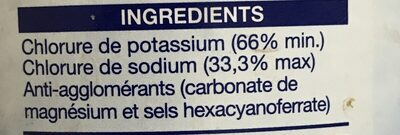LoSalt® Reduced Sodium Salt - Ingredients - fr