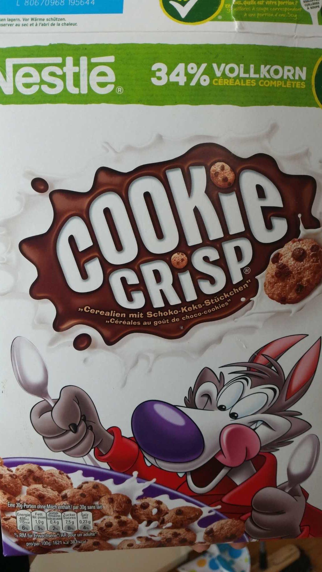 Cookies Crisp, Cerealien 0,38 KG Pro Packung - Product - de